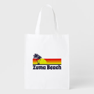 Zuma Beach Reusable Grocery Bag