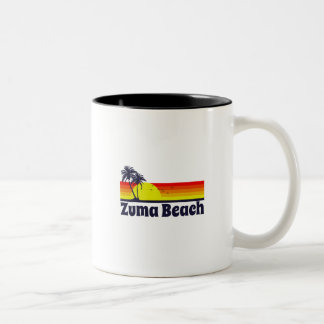 Zuma Beach Two-Tone Coffee Mug