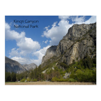 Zumwalt Meadow- Kings Canyon National Park Postcard