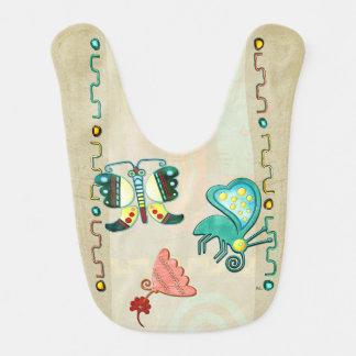 Zuni Butterfly 2 Folk Art Bib