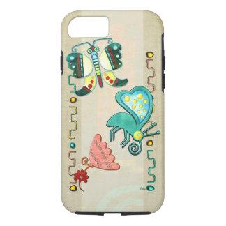 Zuni Butterfly 2 Folk Art iPhone 7 Case