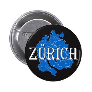 Zurich 2 Inch Round Button
