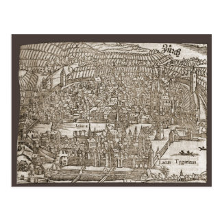 Zurich in the 16th century post cards
