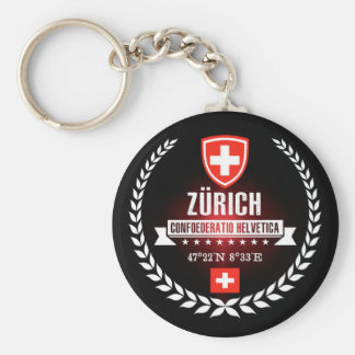 Zürich Keychain
