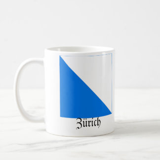 Zürich, Schweiz Fahnen Flags Coffee Mug