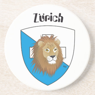 Zurich Switzerland beer cover Beverage Coaster