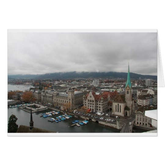 Zurich, Switzerland Card