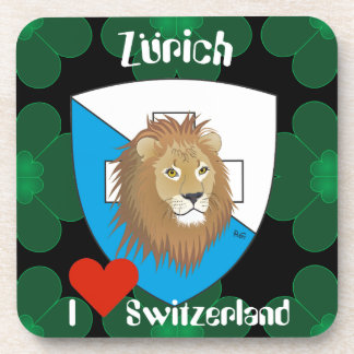 Zurich Switzerland cork reductor Beverage Coasters