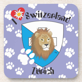 Zurich Switzerland cork reductor Coasters