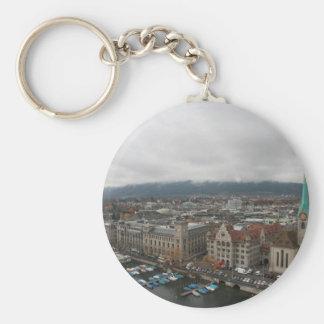 Zurich, Switzerland Keychain