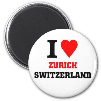 Zurich Switzerland Magnet