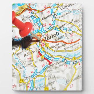 Zürich, Switzerland Plaque