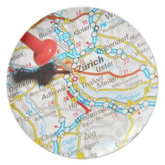 Zürich, Switzerland Plate