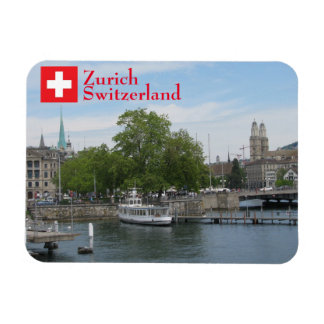 Zurich, Switzerland Rectangular Photo Magnet