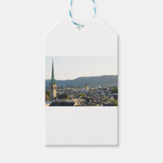 Zurich Switzerland Skyline Gift Tags
