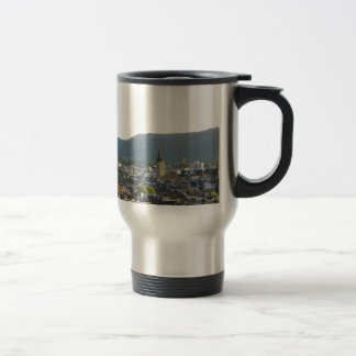 Zurich Switzerland Skyline Travel Mug