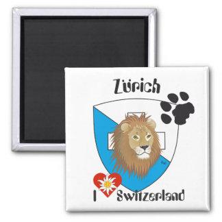 Zurich Switzerland Suisse Svizzera magnet