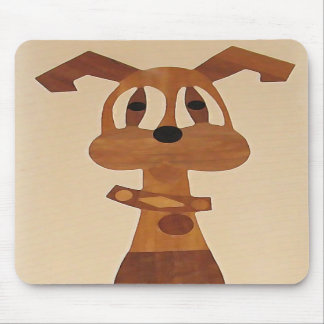 ZV- Cute funky dog mousepad
