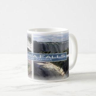 ZW Zimbabwe - Zambia - Victoria Falls - Coffee Mug