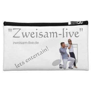 """""""Zweisam live"""" cultural hiving moose Makeup Bags"""