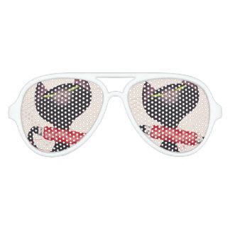 Zwicky Cat Poster by Donald Brun Sunglasses