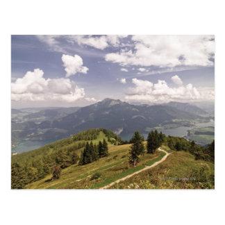 zwoelferhorn, wolfgangsee, salzburg,salzburger 2 postcard