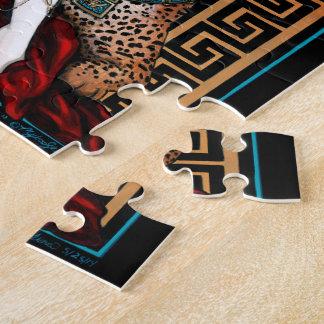 Zyanya Toltec Jaguar Quetzal Priestess Puzzle