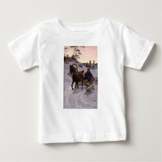 Zygmunt_Ajdukiewicz_Polnische_Schlittenfahrt Baby T-Shirt