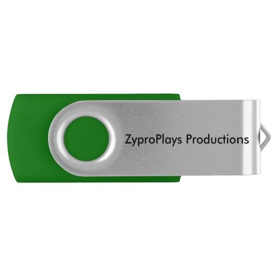 ZyproPlays 16 GB USB Drive Swivel USB 2.0 Flash Drive
