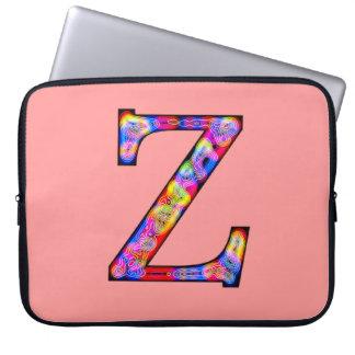 Zz Illuminated Monogram Laptop Sleeves