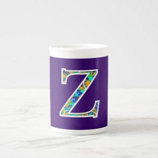 Zz Illuminated Monogram Tea Cup