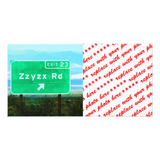 ZZYZX RD PICTURE CARD