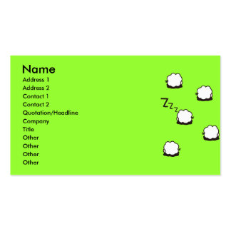 ZZZ PACK OF STANDARD BUSINESS CARDS